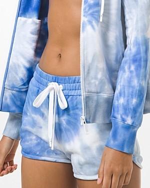 MICHAEL Michael Kors Tie Dyed Cotton Shorts