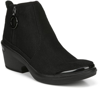 Bzees Mid-Shaft Side Zip Boots - Tease