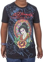 Ed Hardy Big Girls' Geisha T-Shirt