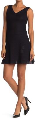 M Missoni Flare Hem Knit Tank Dress