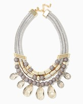 Charming charlie Adorning Stone Statement Necklace