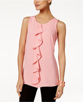 Alfani Ruffled Top, Only at Macy's
