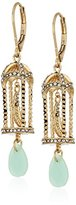lonna & lilly Gold-Tone Multi-Birdcage Drop Earrings