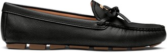 Prada Bow Detail Loafers