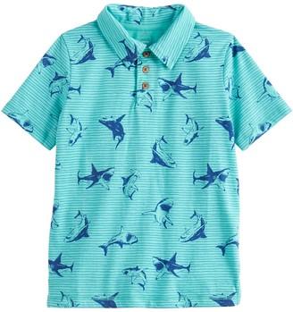 Sonoma Goods For Life Boys 4-12 Shark Polo in Regular, Slim & Husky