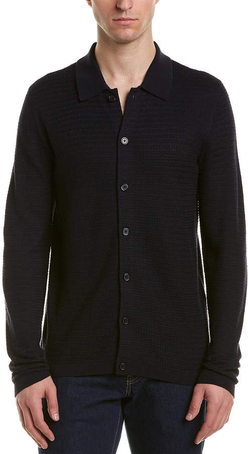 Reiss Hunter Wool-Blend Polo