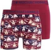 Muchachomalo Sail 2 Pack Shorts Multicolor