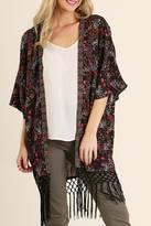 Umgee USA Skyler's Fringe Kimono