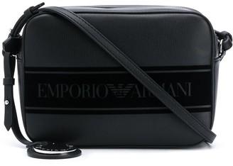 Emporio Armani Logo Tape Shoulder Bag
