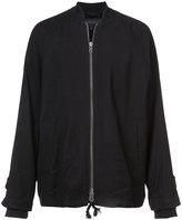 Ann Demeulemeester zip up bomber jacket