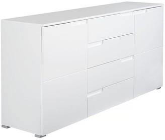 Sleek Gloss Large Sideboard