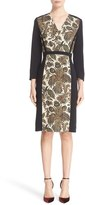 Etro Women's Fern Paisley Print Cady Dress
