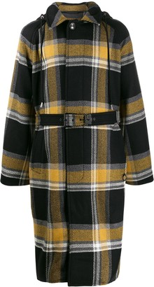 Diesel W-Stal Double Face check coat