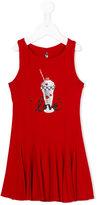 Lapin House - milkshake print tank dress - kids - Cotton/Spandex/Elastane/viscose - 6 yrs