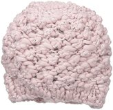 San Diego Hat Company Women's Chunky Yarn Beanie Hat with Silver Sequinn