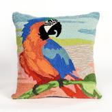 """Liora Manne Frontporch Macaw 18"""" Pillow - Sunset"""