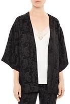 Sandro Tiger Moon Kimono Jacket