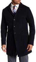 Mason Mason&s Notch Lapel Raw Edge Jacket