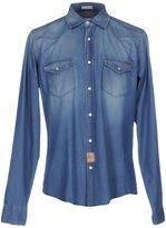 Roy Rogers ROŸ ROGER'S Denim shirts - Item 42548453