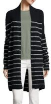 Vince Textured Striped Cardigan