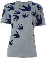 McQ Swallow Swarm patch T-shirt
