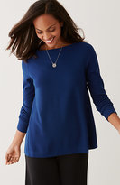 J. Jill Wearever Ottoman Knit Swing Top