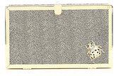 Kate Landry Jewel-Bug Brooch Metallic Clutch