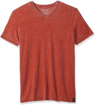 Lucky Brand Men's Venice Burnout V-Neck Tee Shirt