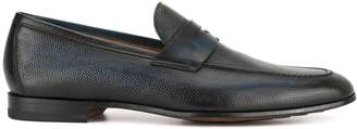 Magnanni painted penny loafers