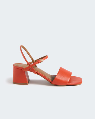 Jigsaw Maria Leather Heel Sandal