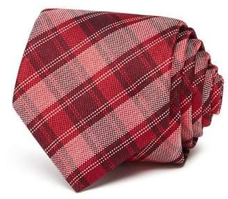 Ted Baker Tonal Plaid Classic Necktie