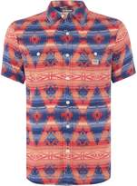Denim And Supply Ralph Lauren Short Sleeve Sport Shirt