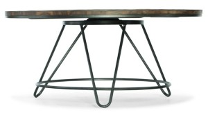 Hooker Furniture Paisley Round Cocktail Table