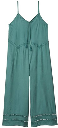 O'Neill Kids Andee (Little Kids/Big Kids) (Washed Spruce) Girl's Jumpsuit & Rompers One Piece