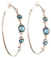Ippolita Diamond & Topaz Hoop Earrings