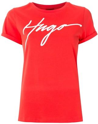 HUGO BOSS logo print T-shirt