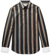 Acne Studios Striped Twill Shirt