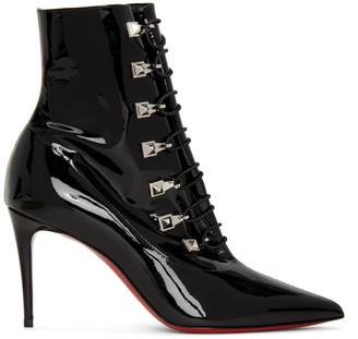 Christian Louboutin Black Patent Frenchissima 2020 Boots
