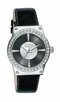 Dolce & Gabbana Women's SUNDANCE DW0528 Black Leather Quartz Watch with Dial