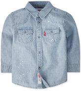 Levi's Baby Boys' Barstow Western Denim Shirt