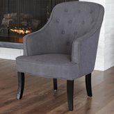 Christopher Knight Home Sophia Dark Grey Fabric Chair