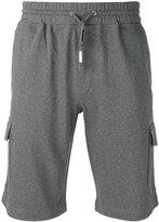 Eleventy cargo pocket track shorts - men - Cotton - XXL