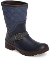 Sperry Walker Canvas Quilt Rain Boot