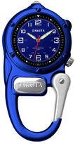 Dakota Mini-Clip Microlight Carabiner Pocket Watch, Blue
