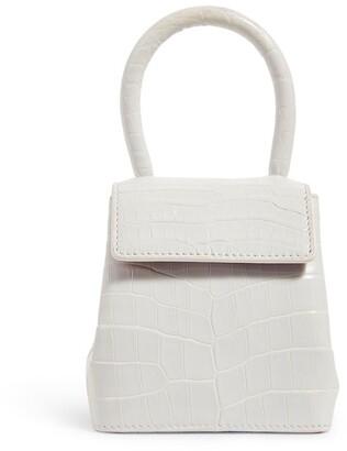 Rubeus Mini Crocodile Liza Top-Handle Bag