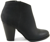 City Classified Black Lavona Bootie