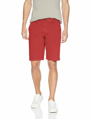 "Goodthreads Amazon Brand Men's Slim-Fit 11"" Inseam Flat-Front Comfort Stretch Chino Shorts"