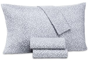 Charter Club Damask Designs Supima Cotton 550-Thread Count 3-Pc. Floral-Print Twin Xl Sheet Set, Created for Macy's Bedding