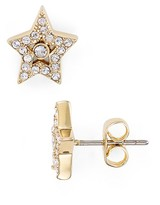 Marc Jacobs Tiny Pavé Star Stud Earrings