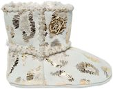 Roberto Cavalli Leopard Printed Suede And Wool Boots